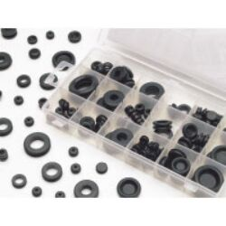 125 Pc Rubber Grommet Hardware Kit