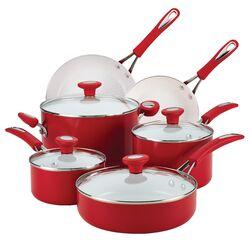 Ceramic CXi Nonstick 12-Piece Cookware Set