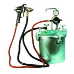 2-1/4 Gallon Pressure Tank with Spray Gun & 12' Hose