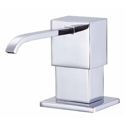 Sirius Soap & Lotion Dispenser in Chrome
