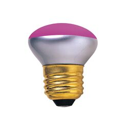 40W Pink 120-Volt Incandescent Light Bulb (Set of 8)
