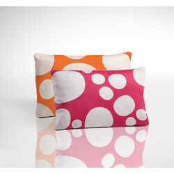 Organic Toddler 2- Sided Pillow - Stepping Stone Blossom and Poppy
