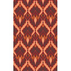 Voyages Chocolate Ikat Area Rug