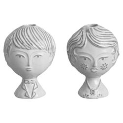 Boy / Girl Vase
