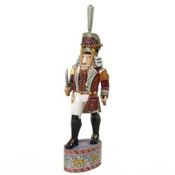 Czar Treasures Wooden Nutcracker Soldier