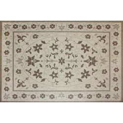 Avis Beige Floral Indoor/Outdoor Rug
