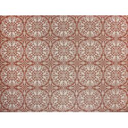 Macie Tile Red/Beige Indoor/Outdoor Rug