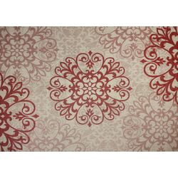 Macie Red/Beige Indoor/Outdoor Rug