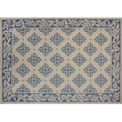 Winona Blue/Beige Indoor/Outdoor Rug