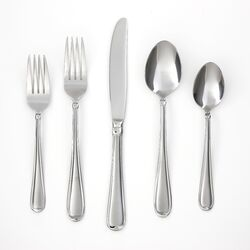 Allure Sand 45 Piece Flatware Set