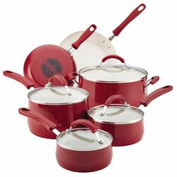 New Traditions Aluminium Nonstick 14-Piece Cookware Set