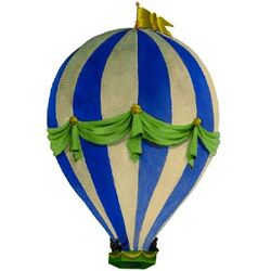 Navy Balloon Wall Decal