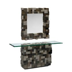 Eden Console Table and Mirror Set