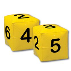 Number Cubes Inflatables - Math All