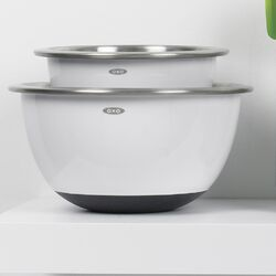 Good Grips 3 Piece Stainless Steel Mixing Bowl Set