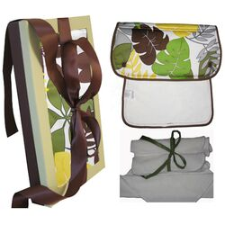 Organic Burp and Wash Gift Set in Rainforest