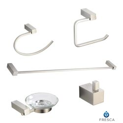 Ottimo 5 Piece Bathroom Accessory Set