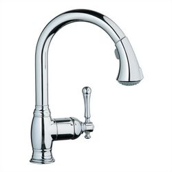 Bridgeford Dual Spray Pull Out Kitchen Faucet