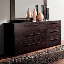 Soho 6 Drawer Double Dresser
