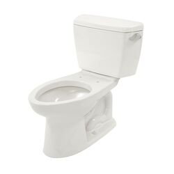 Drake Eco 1.28 GPF Elongated 2 Piece Toilet with SanaGloss Glaze