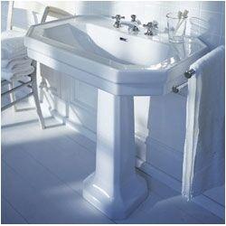 1920 Pedestal Sink : ... Series 1920 Petite Pedestal Bathroom Sink (Basin Only) - F-1920-4