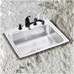 Lustertone Single Bowl Sink 5.5