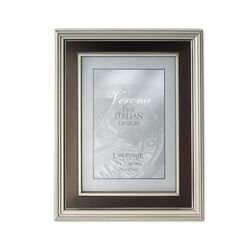 Contemporary Oil Rubbed Bronze Inner Panel Metal Picture Frame