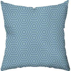 Hex Outdoor Throw Pillow