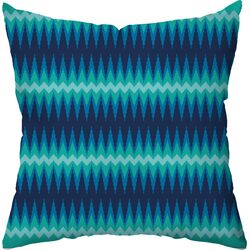 Aztec Ikat Throw Pillow