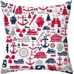 Seafarer Throw Pillow