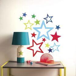 Peel & Stick Stars in Stars