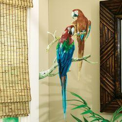 Parrots Wallpaper Mural