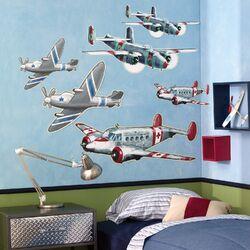 Airplanes Wallpaper Mural