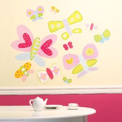 Jenny's Butterflies Wallpaper Mural