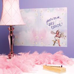 Flower Fairies Dry Erase Vinyl Wall Decal