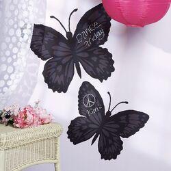 Butterfly Chalkboard Mural