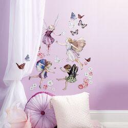 Fairyopolis Peel and Stick Wall Art