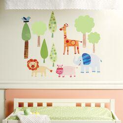 Zoo Baby Wall Sticker