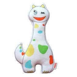 Organic Rattle Dragon Toy