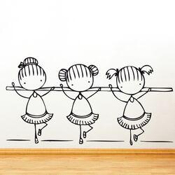Piccolo Ballet Class Wall Decal