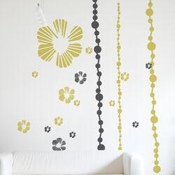 XXL Tumbling Blooms Wall Sticker