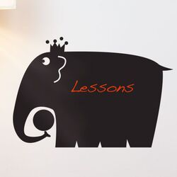 Memo Elephant Wall Decal