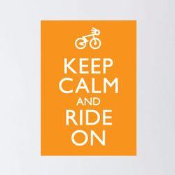 Blabla Ride on Wall Stickers