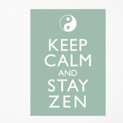 Blabla Stay Zen Wall Stickers