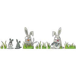 Ludo Rabbits Wall Decal