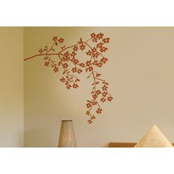 Spot Coastline Blossoms Wall Decal