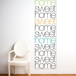 Unik Home Sweet Home Wall Decal