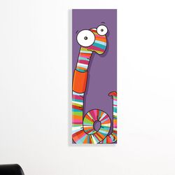 Canvas Worm Wall Decal
