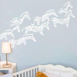 Piccolo Herd of Zebras Wall Sticker