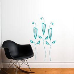 Spot Cactus Flowers Wall Decal